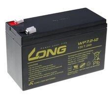 Avacom baterie Long 12V/7,2Ah, olověný akumulátor F2 - PBLO-12V007,2-F2A