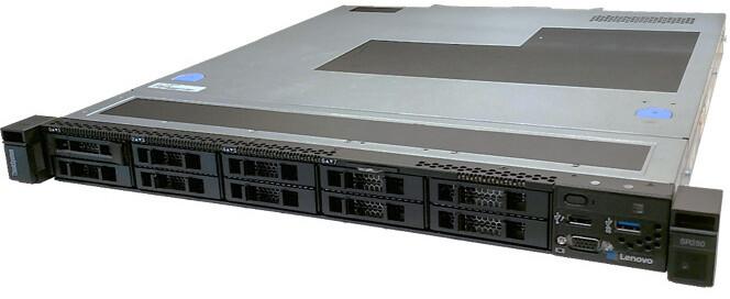 Lenovo ThinkSystem SR250 /E-2146/bez HDD/16GB/450W