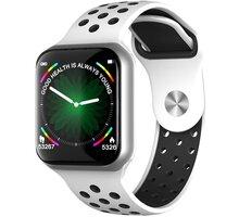 IMMAX chytré hodinky SW13 PRO, bílo-stříbrné - HODIMM1070