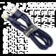 BASEUS kabel Cafule USB-A - Lightning, nabíjecí, datový, 2.4A, 1m, zlatá/modrá