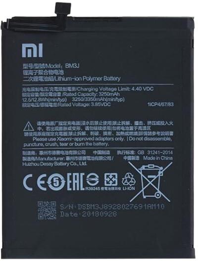Xiaomi BM3J baterie 3350mAh pro Xiaomi Mi 8 Lite (Bulk)