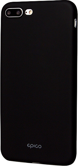 EPICO pružný plastový kryt pro iPhone 7 Plus EPICO GLAMY - černý