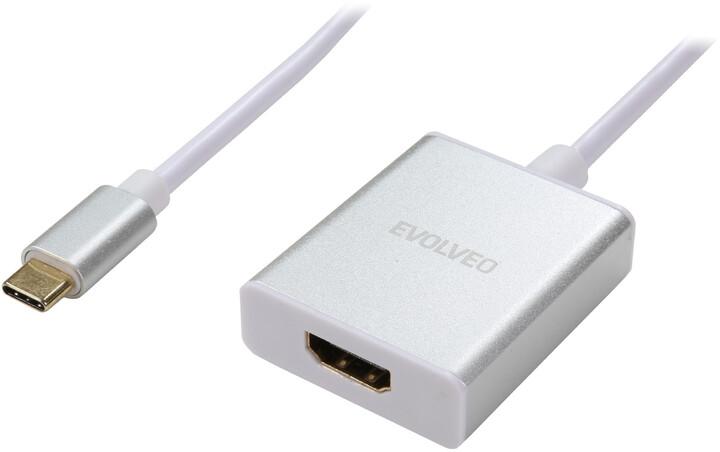 Evolveo USB-C - HDMI adaptér
