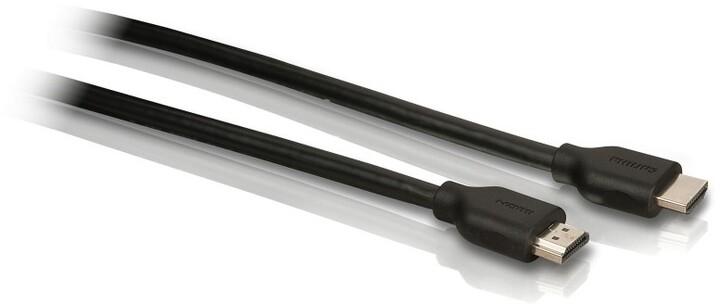 Philips kabel HDMI, zpětný audio kanál, protiskluzová rukojeť, 1,5m