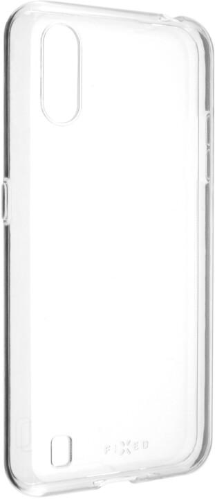 FIXED TPU gelové pouzdro pro Samsung Galaxy M01, čirá