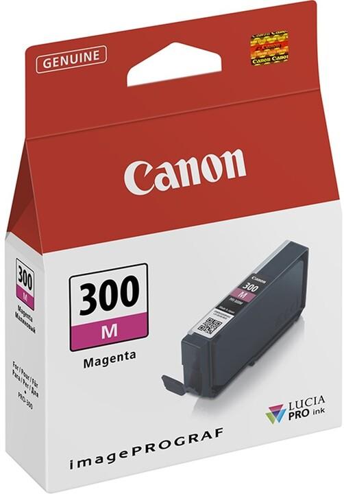 Canon PFI-300M, purpurová