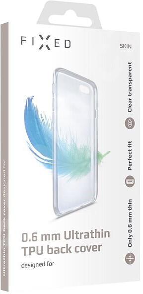 FIXED Skin zadní kryt pro Samsung M205 Galaxy M20, 0.6 mm, čirá