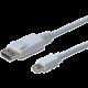 Digitus kabel DP - mini DP, M/M, 2m, bílá