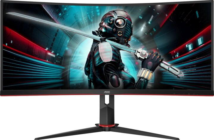 """AOC CU34G2X - LED monitor 34"""""""