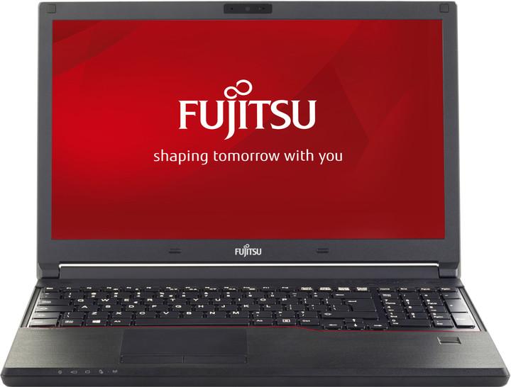 Fujitsu Lifebook E556, černá
