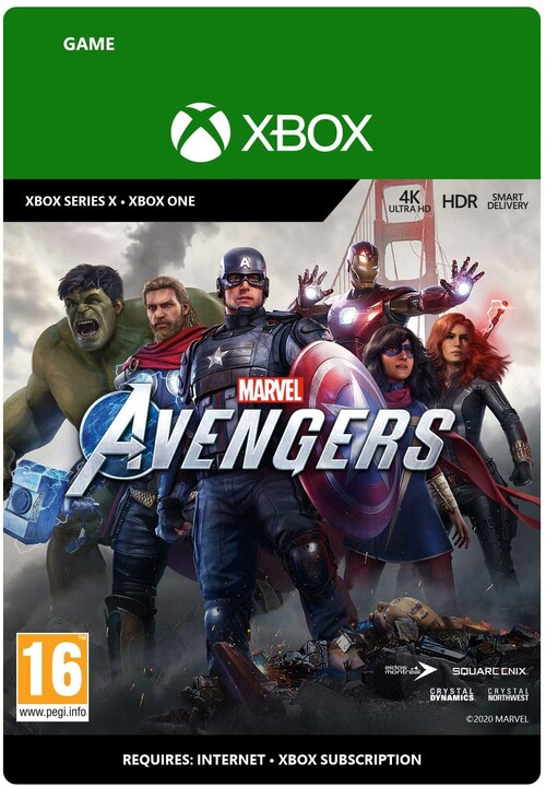 Marvels Avengers (Xbox ONE) - elektronicky