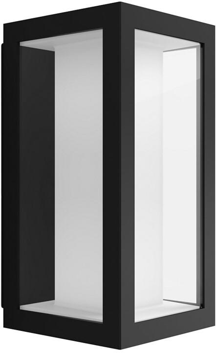 PHILIPS Impress Venkovní nástěnné svítidlo, White and Color Ambience, úzké, antracitová