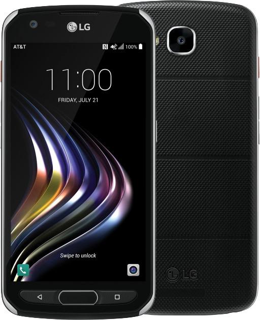 LG X Venture, černá