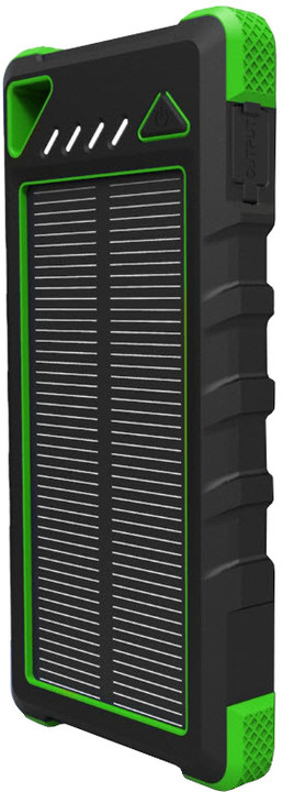 Viking solární power banka AKULA II 16000mAh, zelená