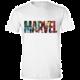 Tričko Marvel Comics - Logo Character Infill (M)