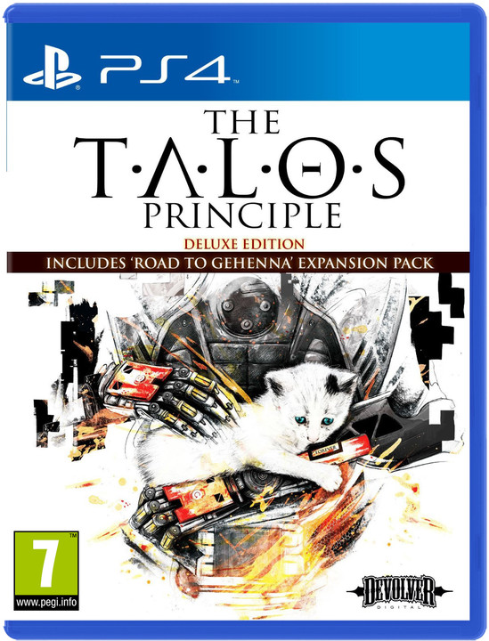 The Talos Principle: Deluxe Edition (PS4)
