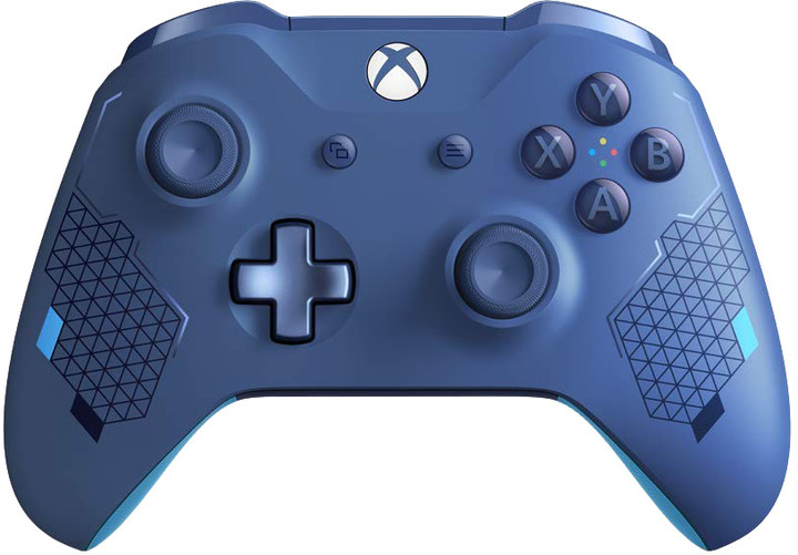Xbox ONE S Bezdrátový ovladač, Sport Blue (PC, Xbox ONE)