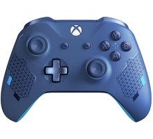 Xbox ONE S Bezdrátový ovladač, Sport Blue (PC, Xbox ONE) - WL3-00146
