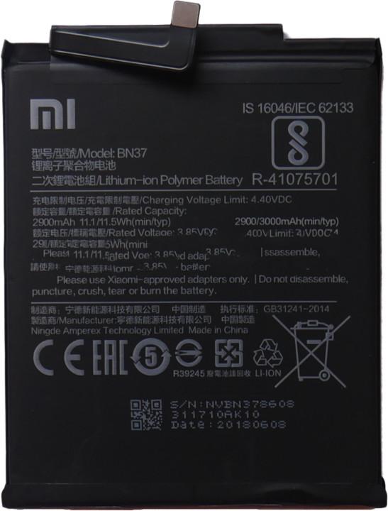 Xiaomi BN37 baterie 3000mAh pro Xiaomi Redmi 6/6A (Bulk)