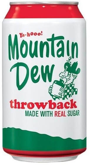 Mountain Dew Throwback 355 ml