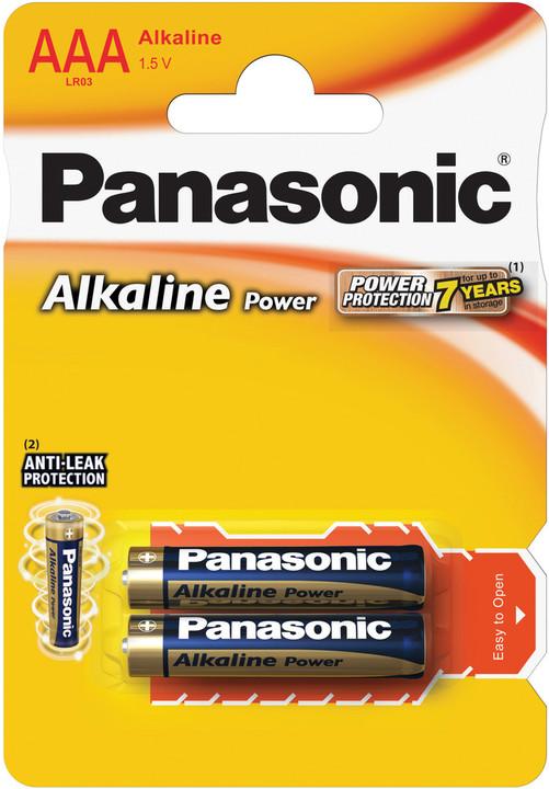 Panasonic baterie LR03 2BP AAA Alk Power alk