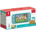 Nintendo Switch Lite, tyrkysová + Animal Crossing: New Horizons