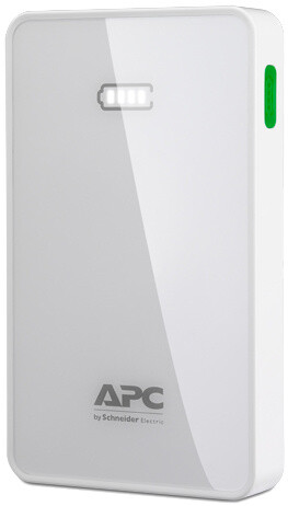 APC Mobile Power Bank, 5000mAh, bílá