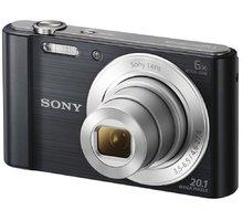Sony Cybershot DSC-W810, černá - DSCW810B.CE3