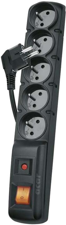 Solarix rozvodný panel ACAR X5, 3m, 5 pozic, s přep. ochr. bez vany