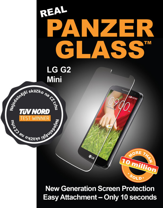 PanzerGlass ochranné sklo na displej pro LG G2 mini