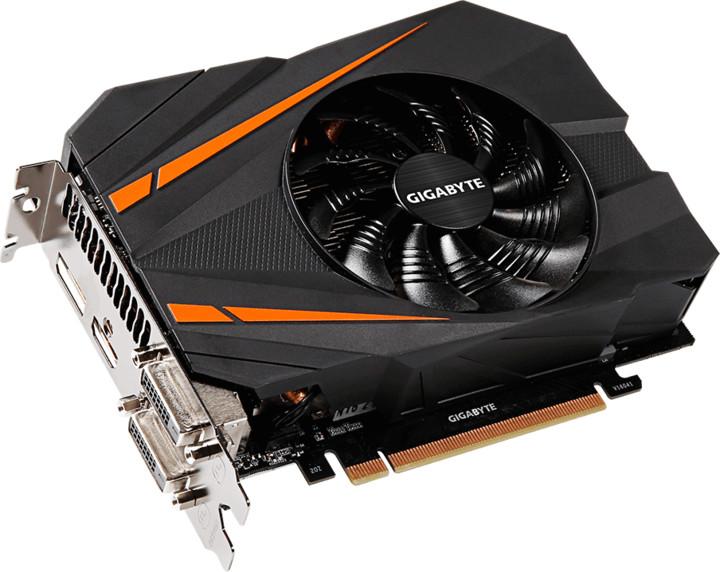 GIGABYTE GeForce GTX 1070 OC, 8GB GDDR5 (mini ITX)