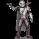 Stavebnice ICONX Star Wars: The Mandalorian - Mando, kovová