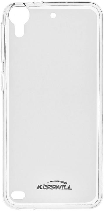 Kisswill TPU pouzdro pro HTC Desire 650, transparentní