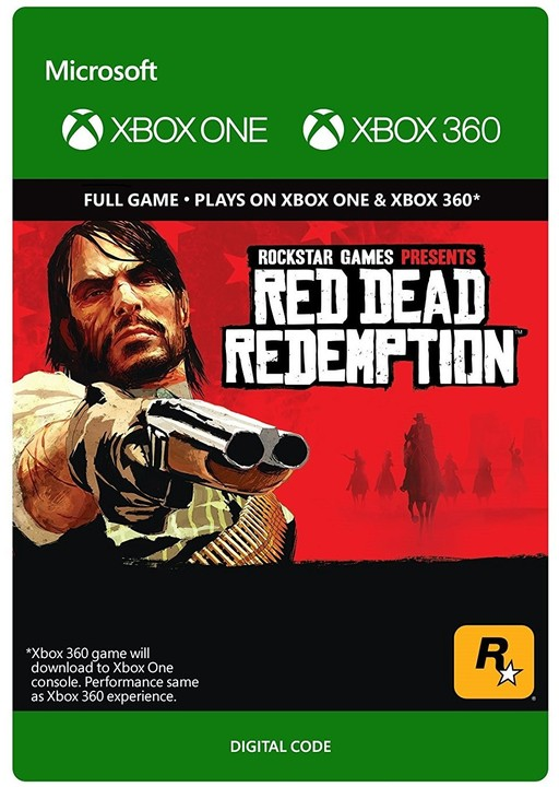 Red Dead Redemption (Xbox ONE, Xbox 360) - elektronicky