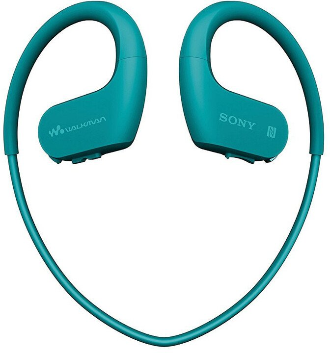 Sony přehrávač NW-WS623, 4GB, modrá