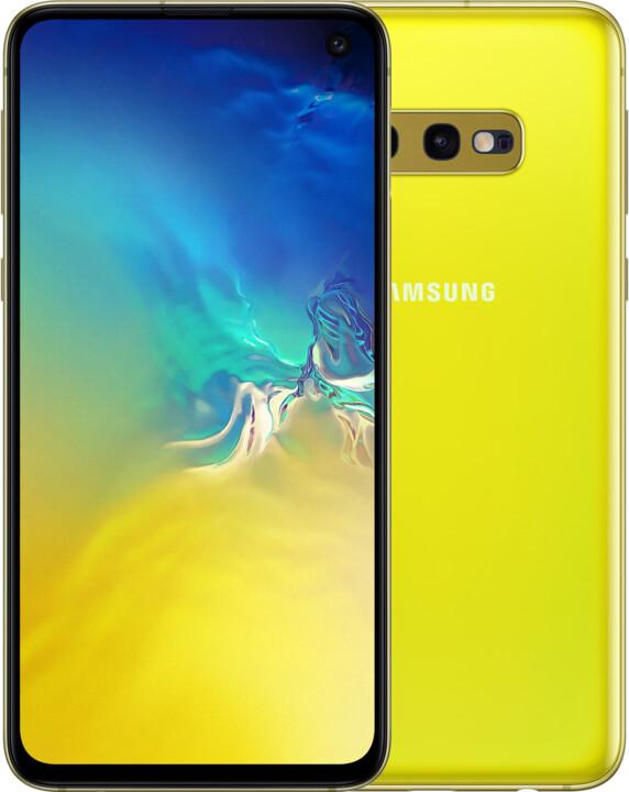 Samsung Galaxy S10e, 6GB/128GB, žlutá