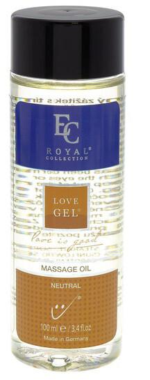 Masážní olej Love Gel, Neutral, 100 ml