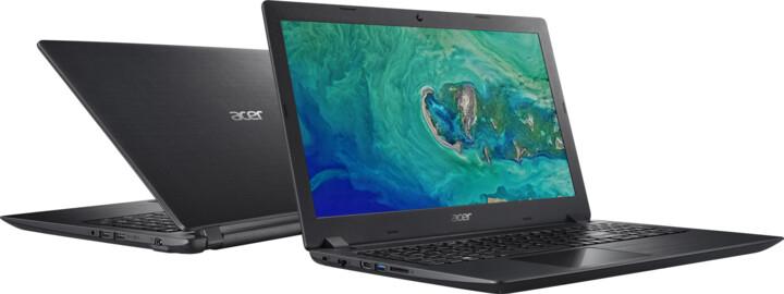 Acer Aspire 3 (A315-51-55E3), černá