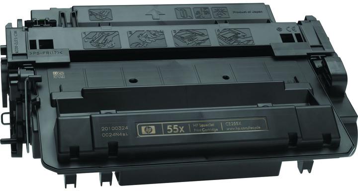 HP CE255X, černý