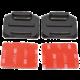 Niceboy 2 nalepovací držáky pro zaoblené plochy (s 3M)