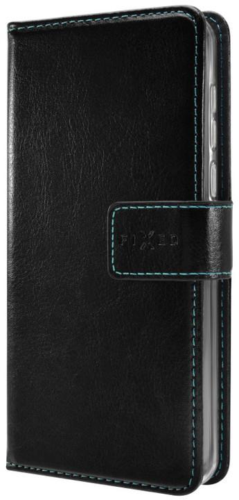 FIXED Opus pouzdro typu kniha pro Motorola Moto G5, černé