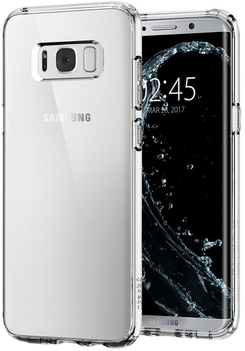 Spigen Ultra Hybrid pro Samsung Galaxy S8, crystal clear