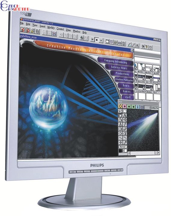 """Philips 170S7FS Silver - LCD monitor 17"""""""