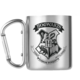 Hrnek Harry Potter - Hogwarts, kovový s karabinou