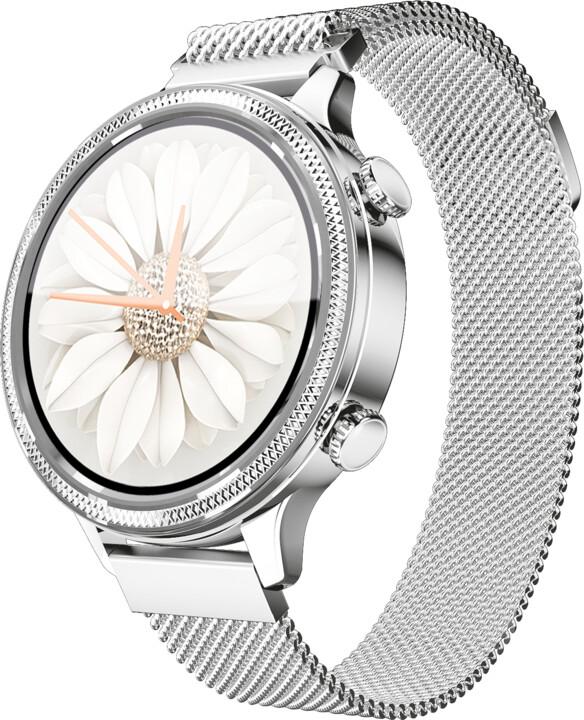 Aligator Watch Lady, Silver