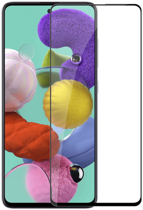 Nillkin tvrzené sklo 2.5D CP+ pro Samsung Galaxy A51, černá