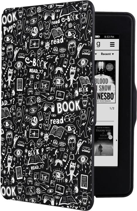 CONNECT IT Doodle pouzdro pro Amazon Kindle Paperwhite, černá