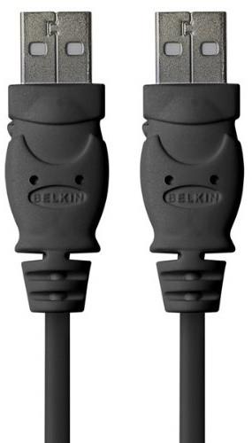 Belkin kabel USB 2.0 A/A prodlužovací, 1.8m