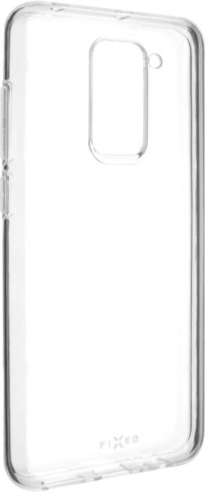 FIXED ultratenké TPU gelové pouzdro Skin pro Xiaomi Redmi Note 9, 0.6 mm, čirá