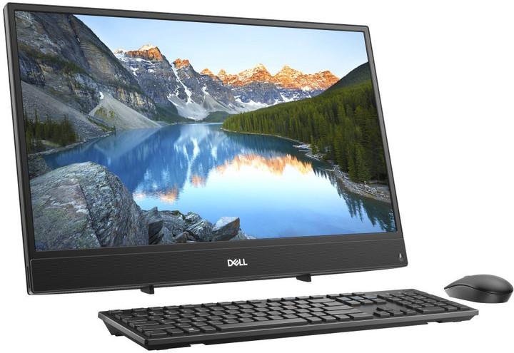 Dell Inspiron One 3477 Touch, černá